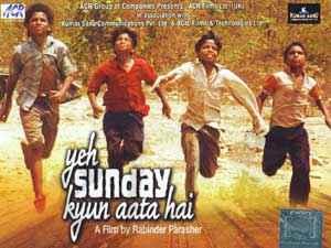Yeh Sunday Kyun Aata Hai  Poster
