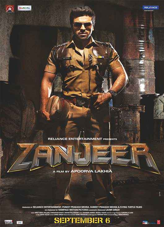 Zanjeer 2013 First Look Poster