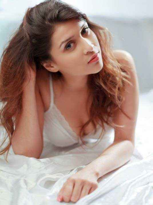 Zid Barbie Handa In White Nighty Dress Stills