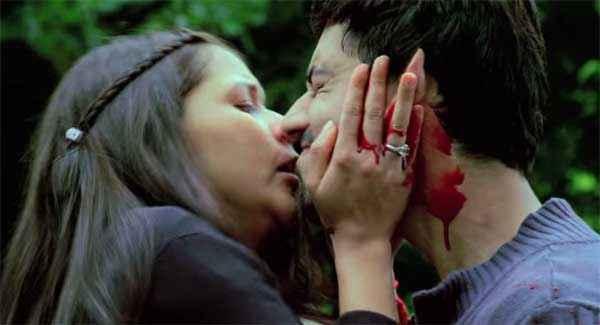 Zid Karanvir Sharma Barbie Handa Sad Kiss Stills
