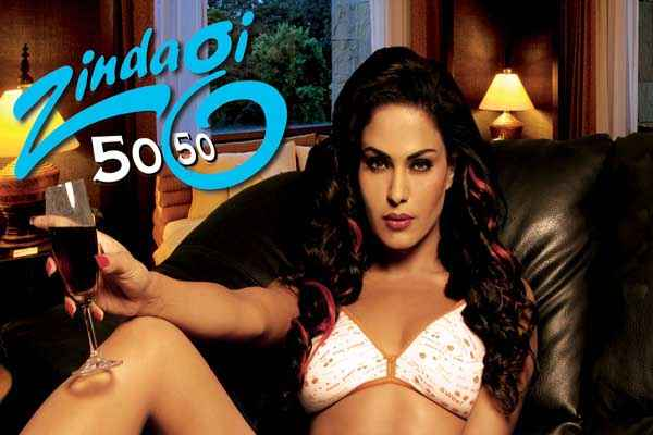 Zindagi 50 50 Hot Poster