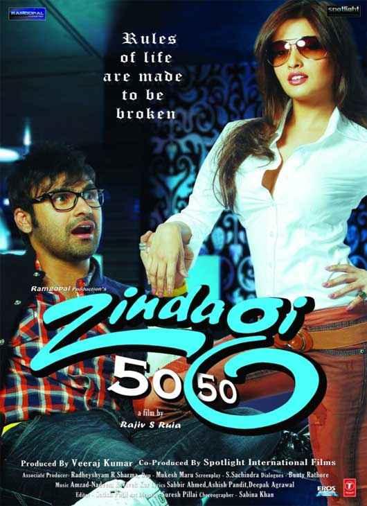Zindagi 50 50 Images Poster