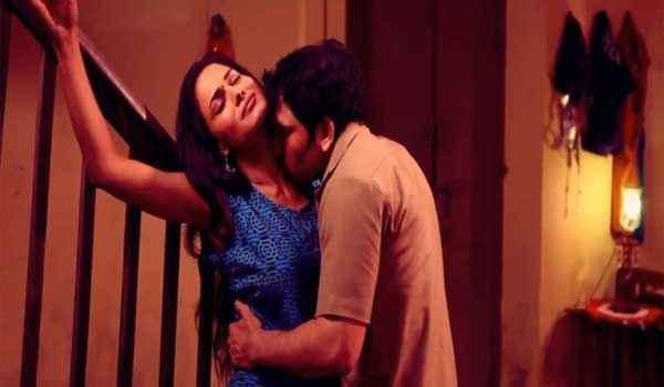 Zindagi 50 50 Veena Malik Rajan Verma Romantic Scene Stills