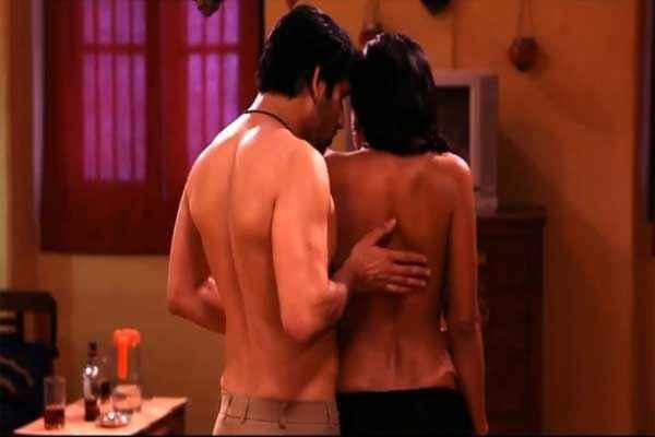 Zindagi 50 50 Veena Malik Romantic Hot Scene Stills