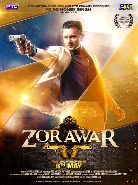 Zorawar Yo Yo Honey Singh Poster